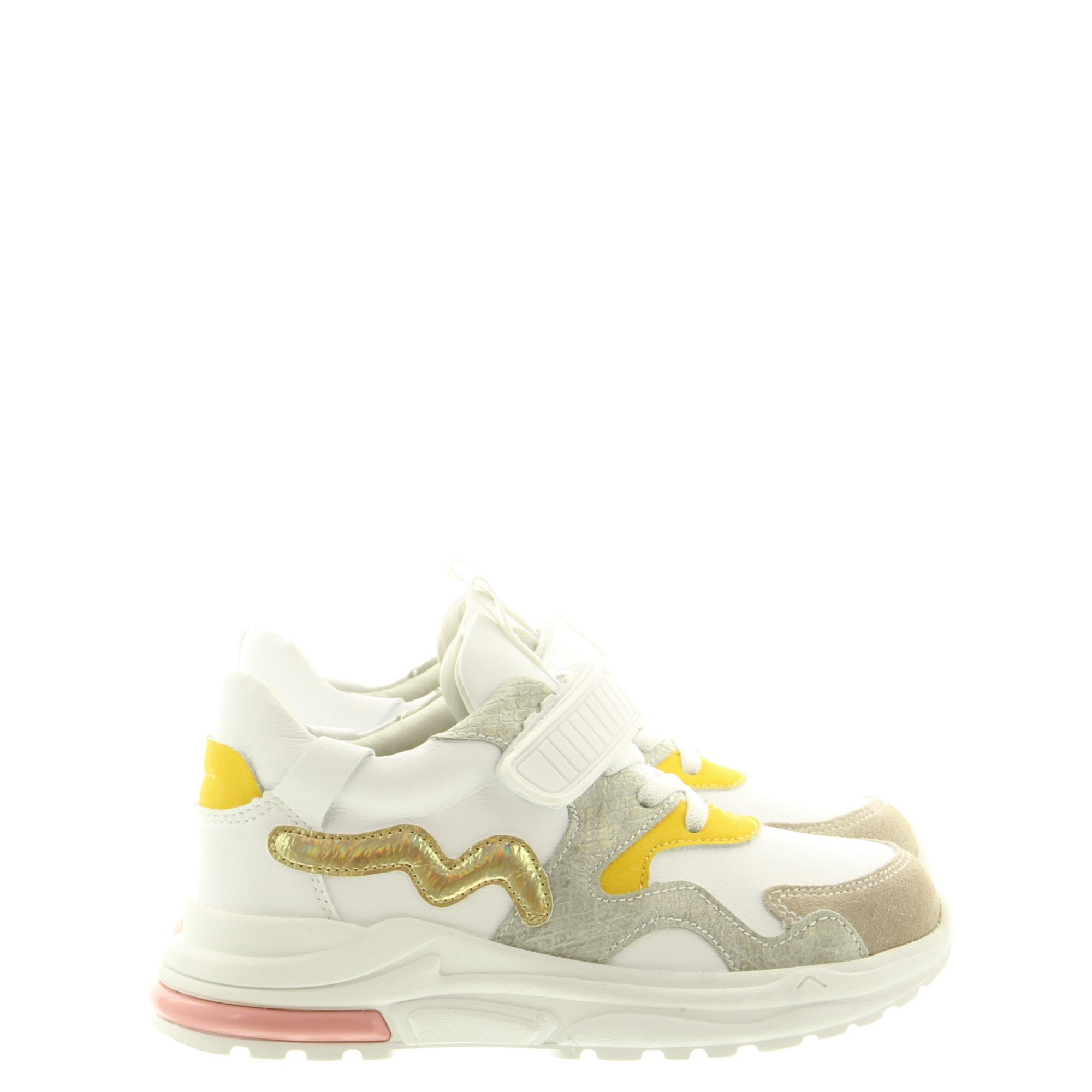 ShoesMe NR21S006-B White Yellow