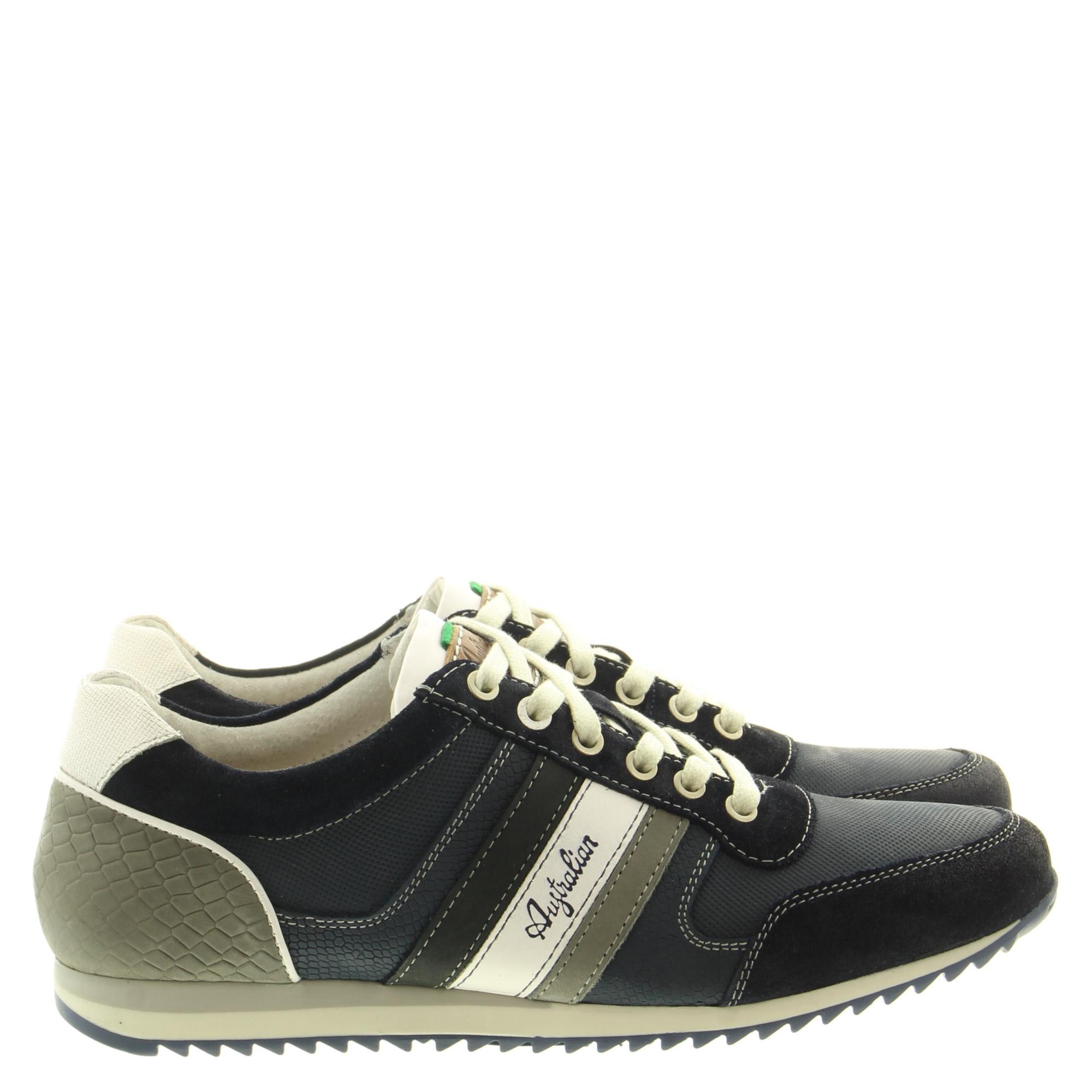 Australian Footwear Cornwall 15.1351.07 SI7 Blue-Grey-White