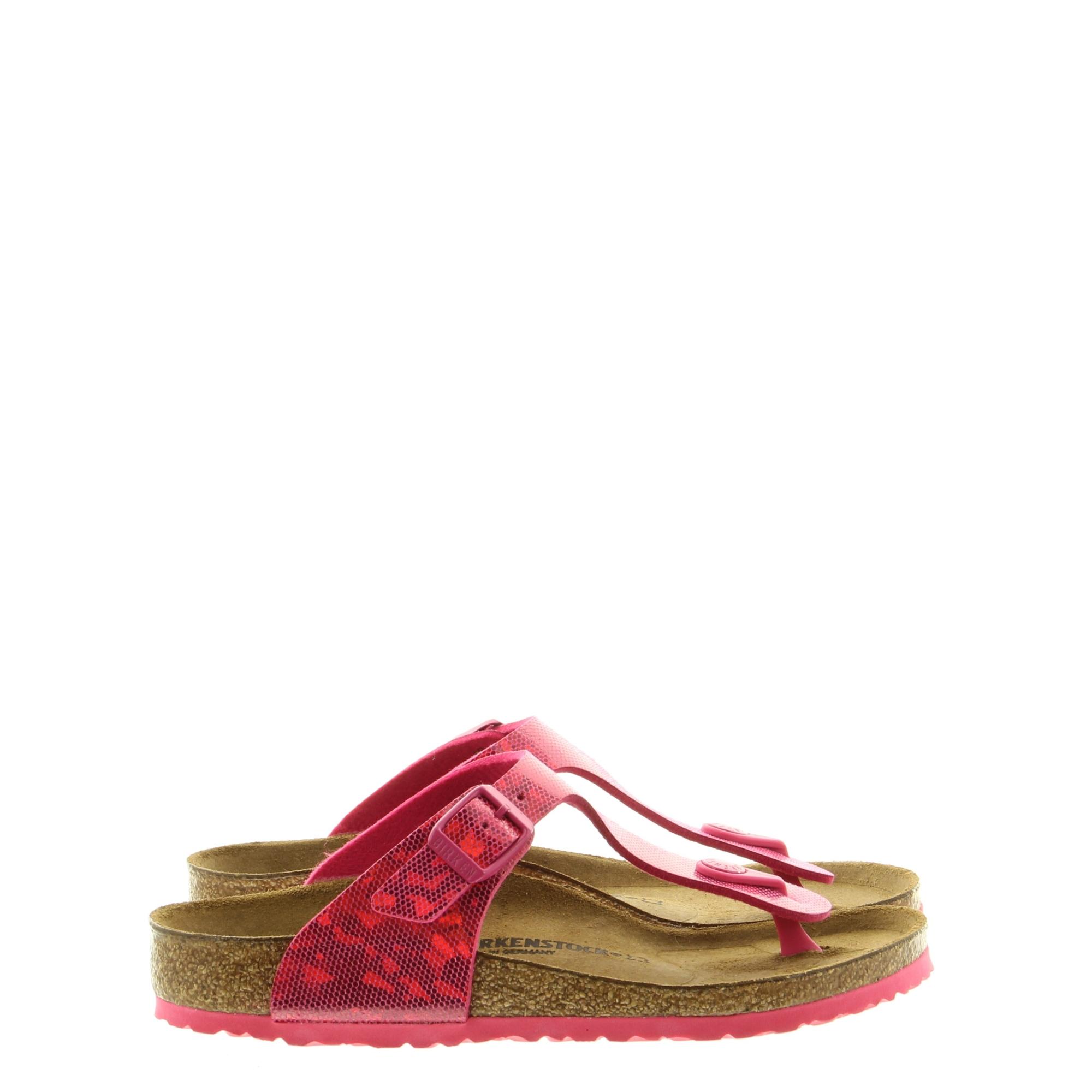 Birkenstock 1013180 Gizeh Hologram Pink Narrow