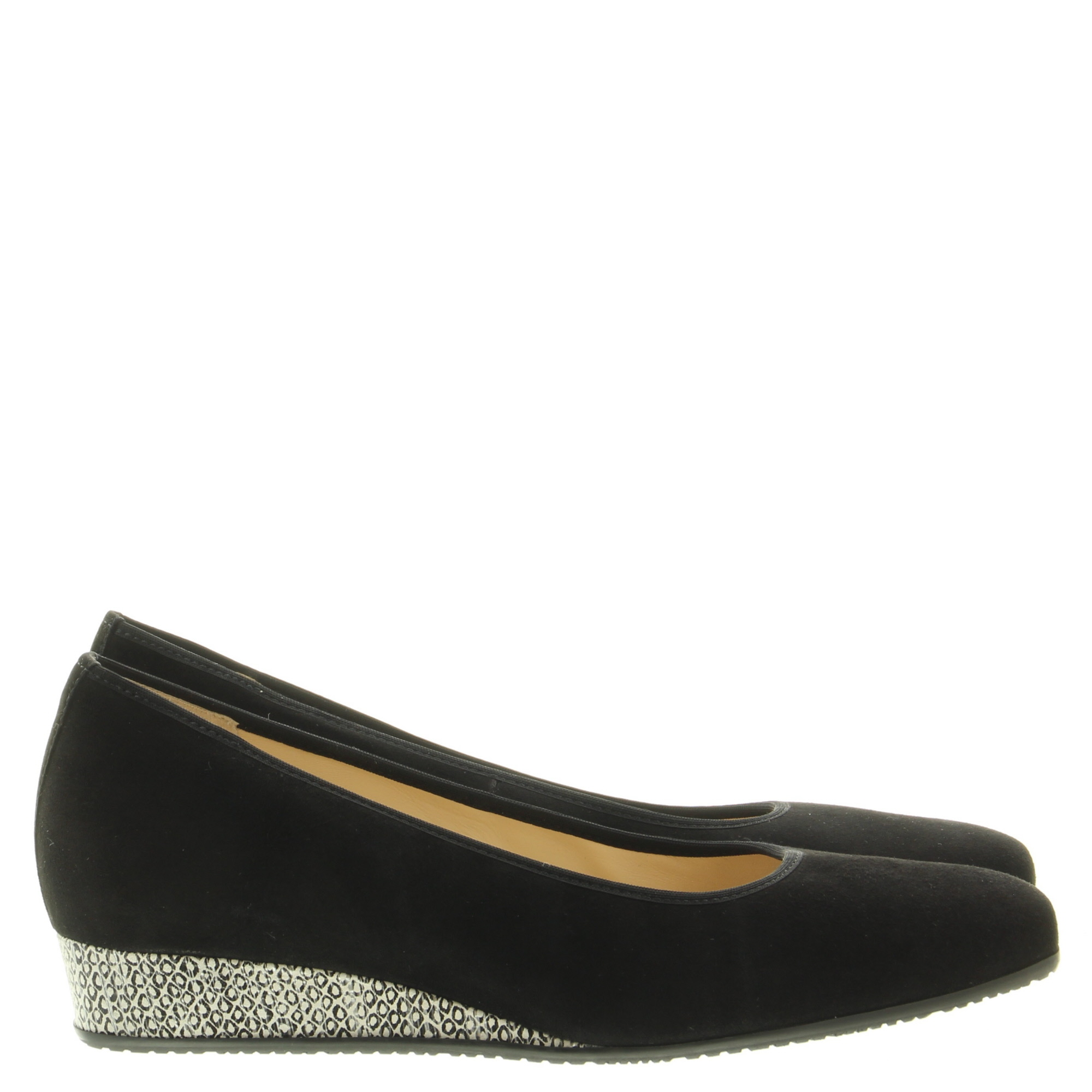 Hassia Shoes 302202 Cannes 0104 Schwarz Offwhite