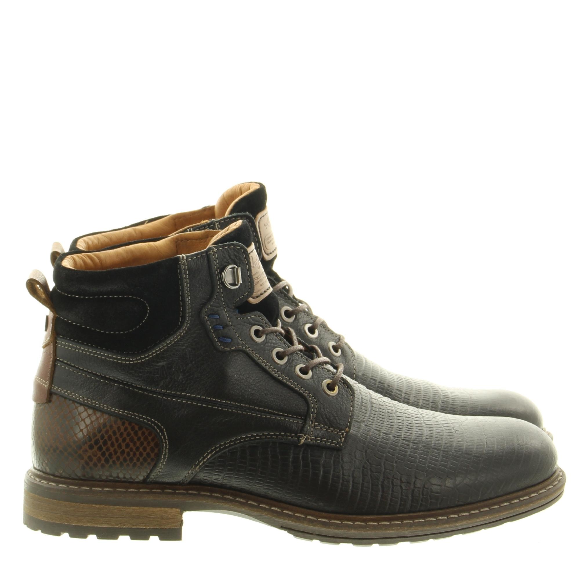 Australian Footwear Rick 15.1492.01 A15 Black Tan
