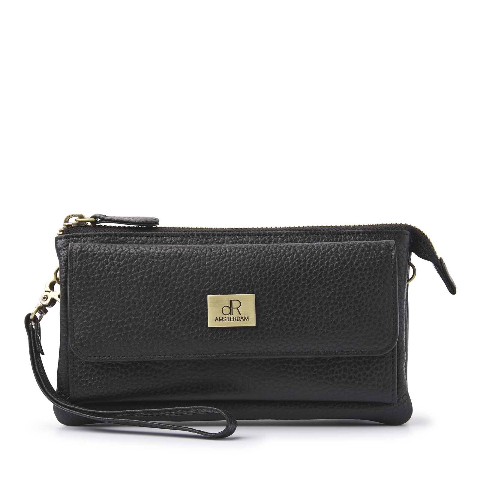 H.J. de Rooy Lederwaren 1103298 Clutch Black