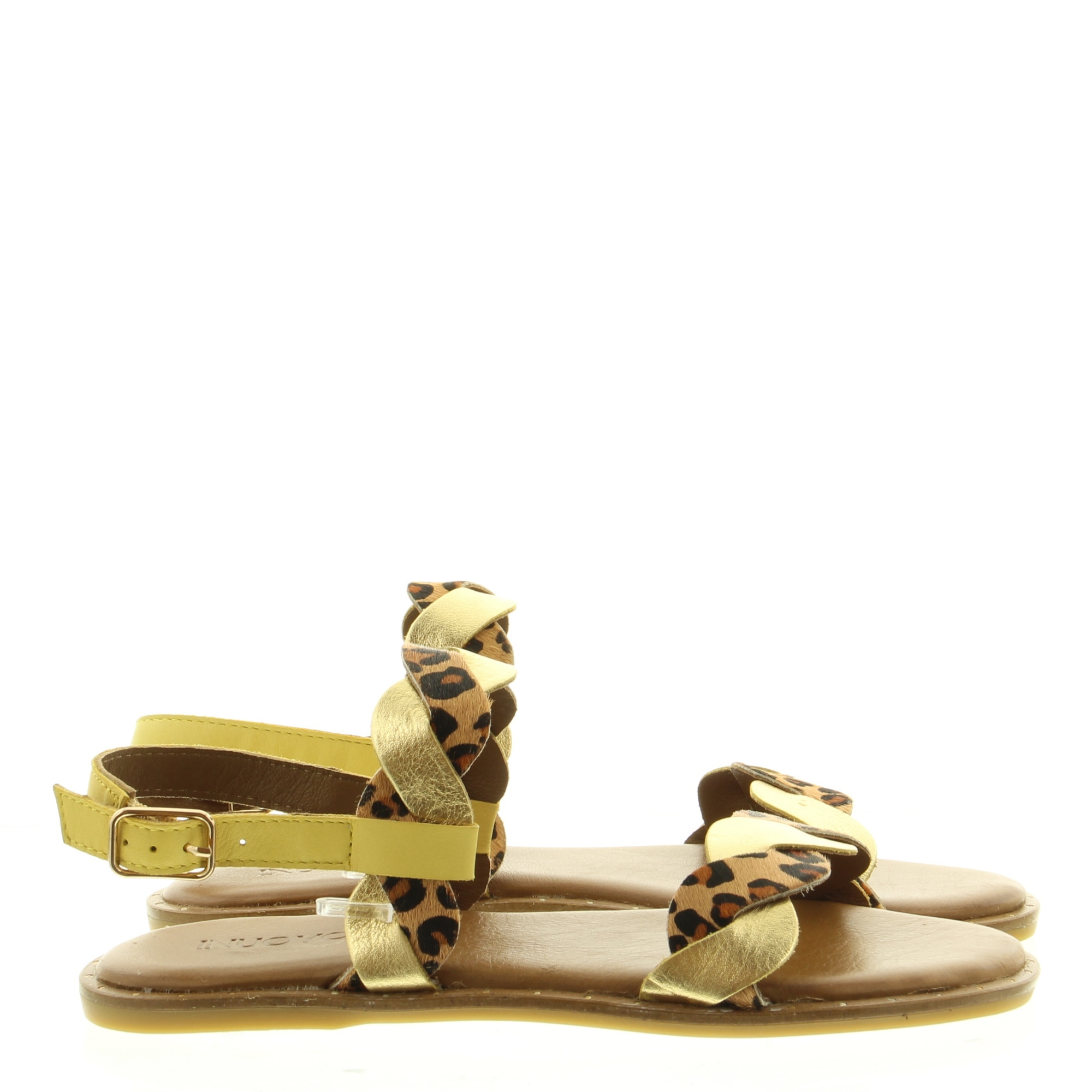 Inuovo 102017 leopard lime