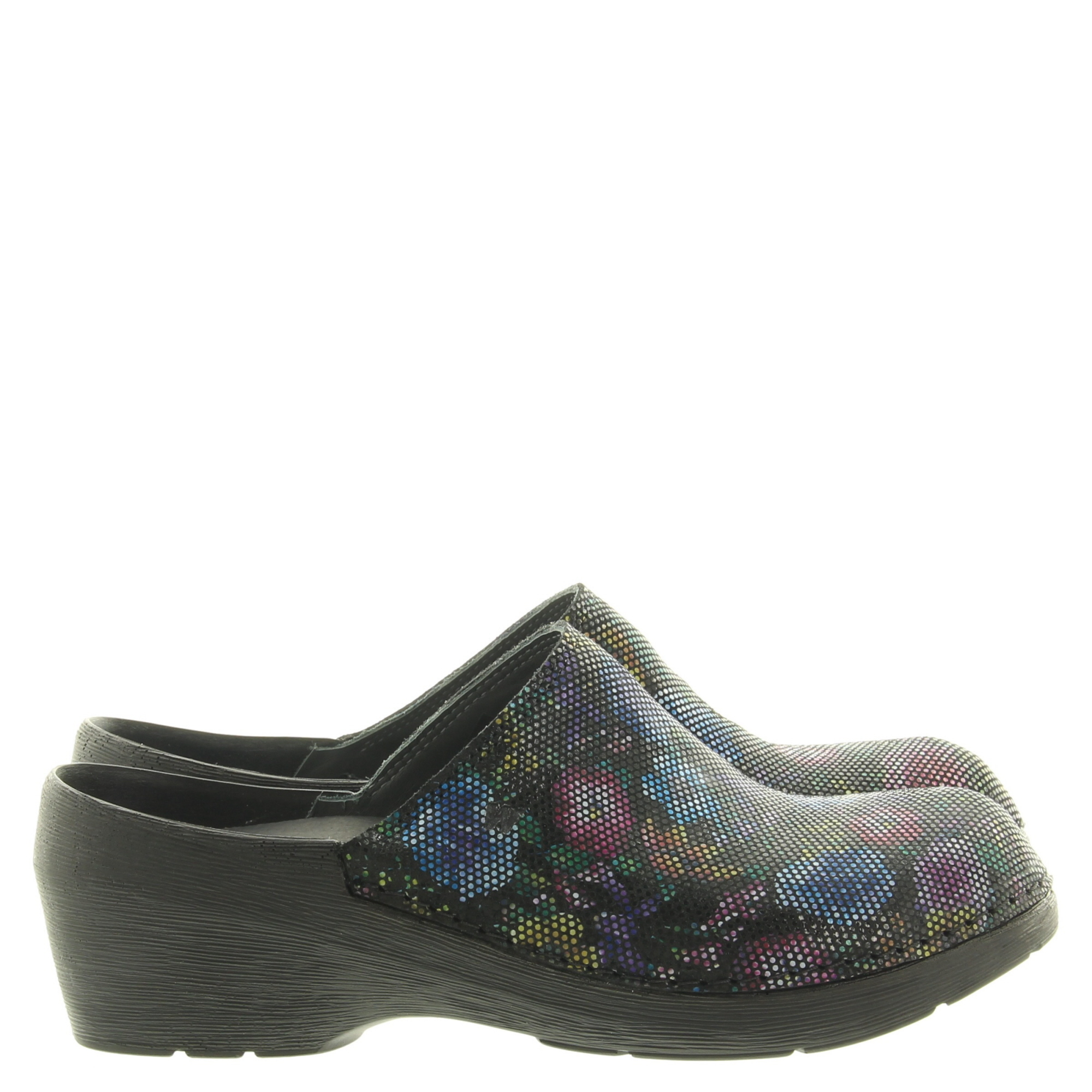 Wolky 0607545 Clog Flowerpoint 000 Black