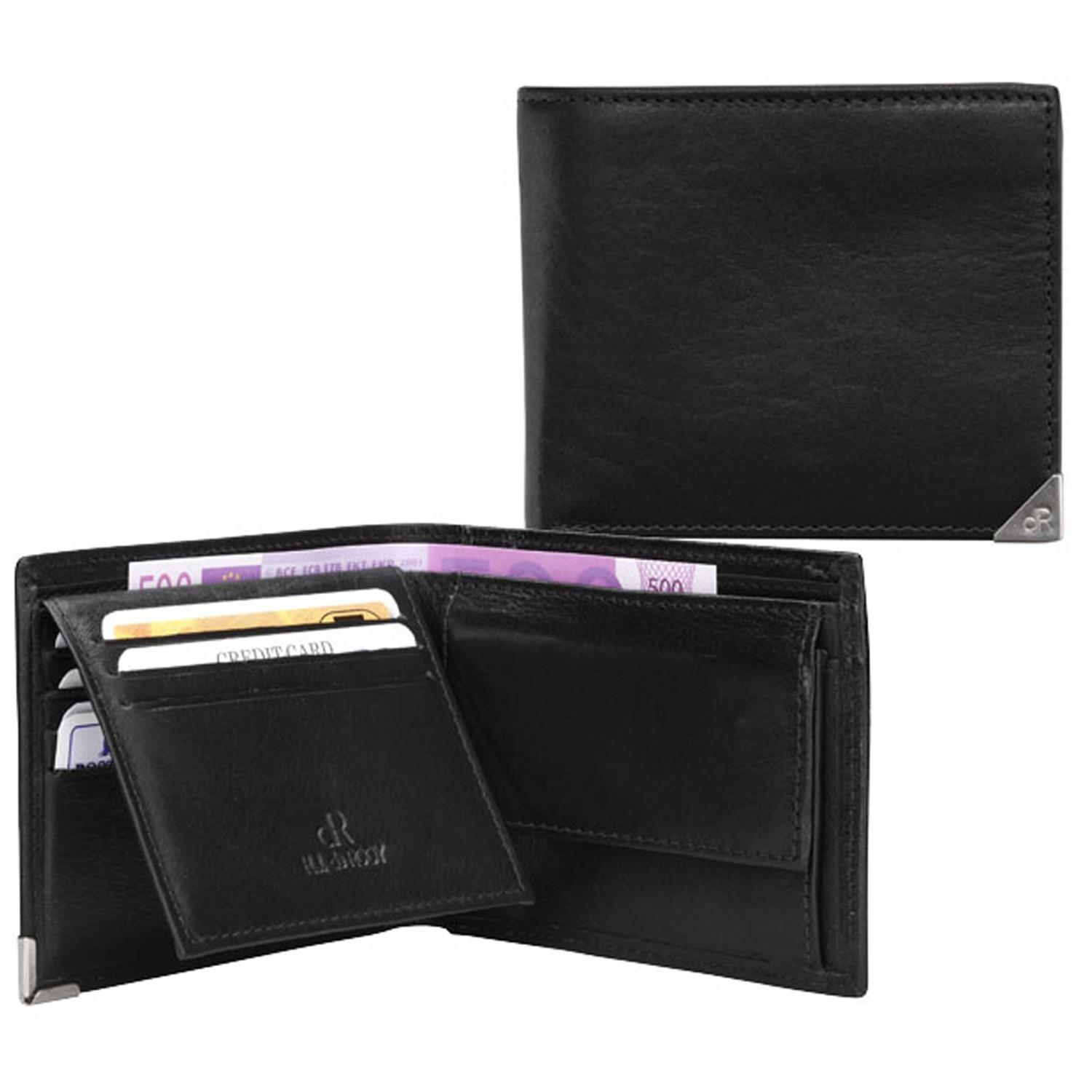 H.J. de Rooy Lederwaren 15524 Billfold Black