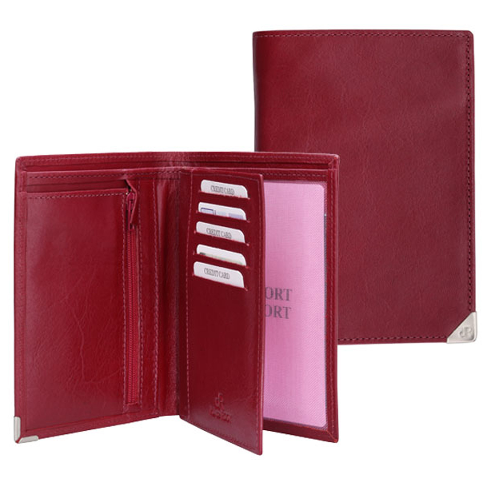 H.J. de Rooy Lederwaren 15731 Portefeuille Red