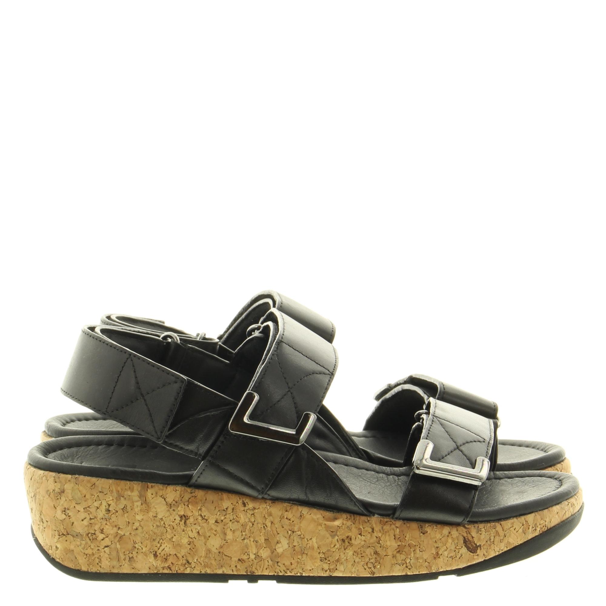 Fitflop BL5 Remi Adjus. Back-Strap Sandals 090 All Black