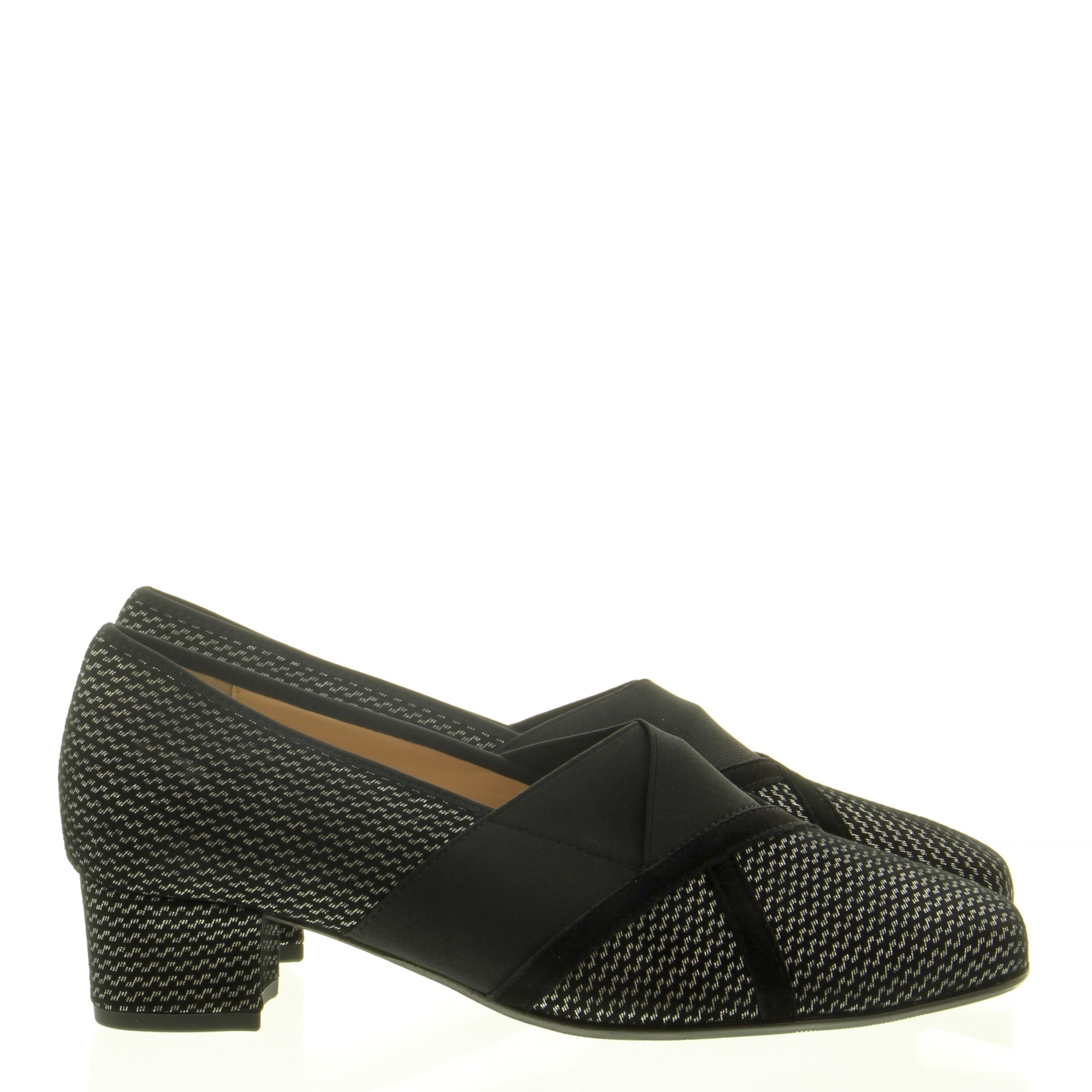 Hassia Shoes 303338 Evelyn 7601 Silver schwarz