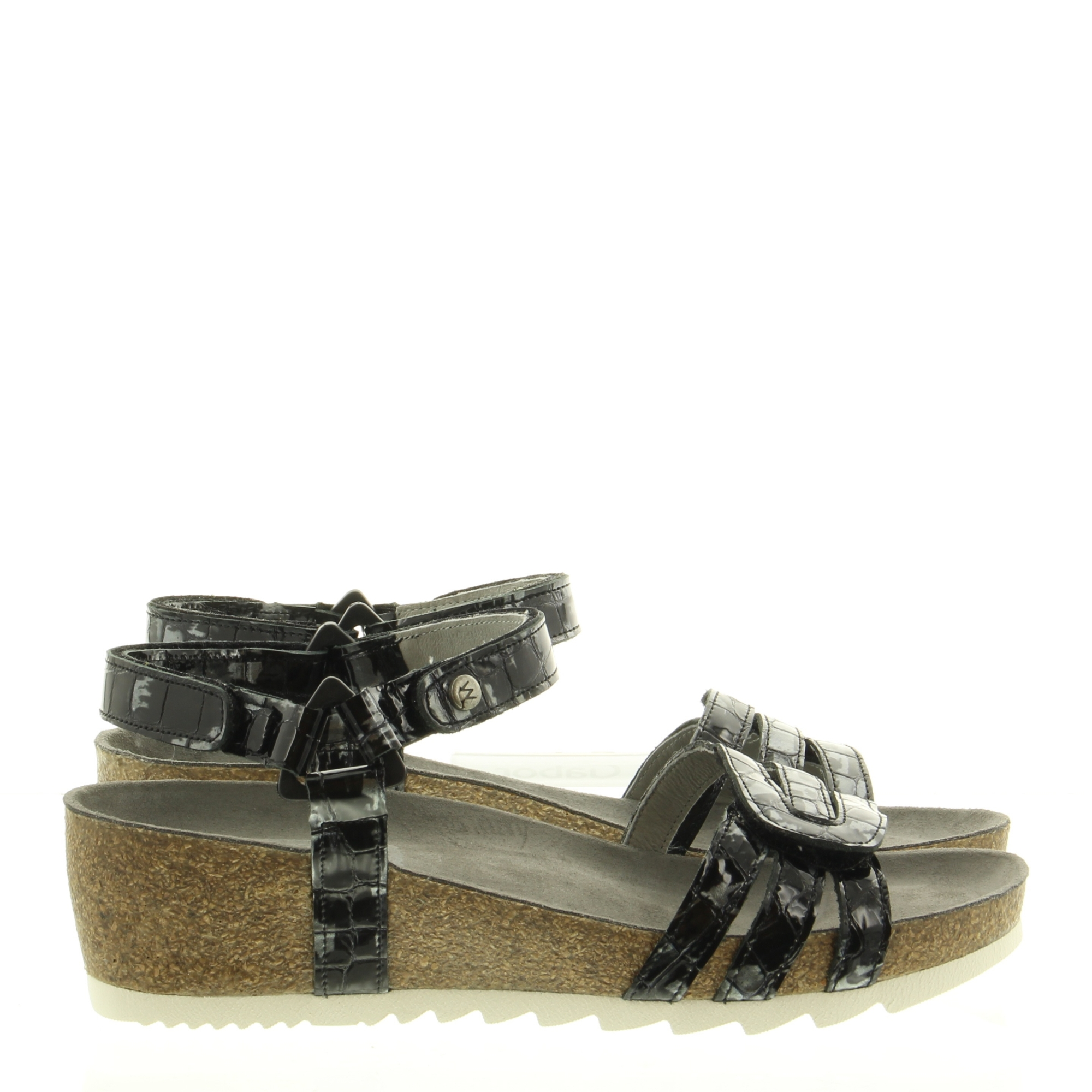 Wolky 0823569 Pacific Croco flash 210 Anthracite
