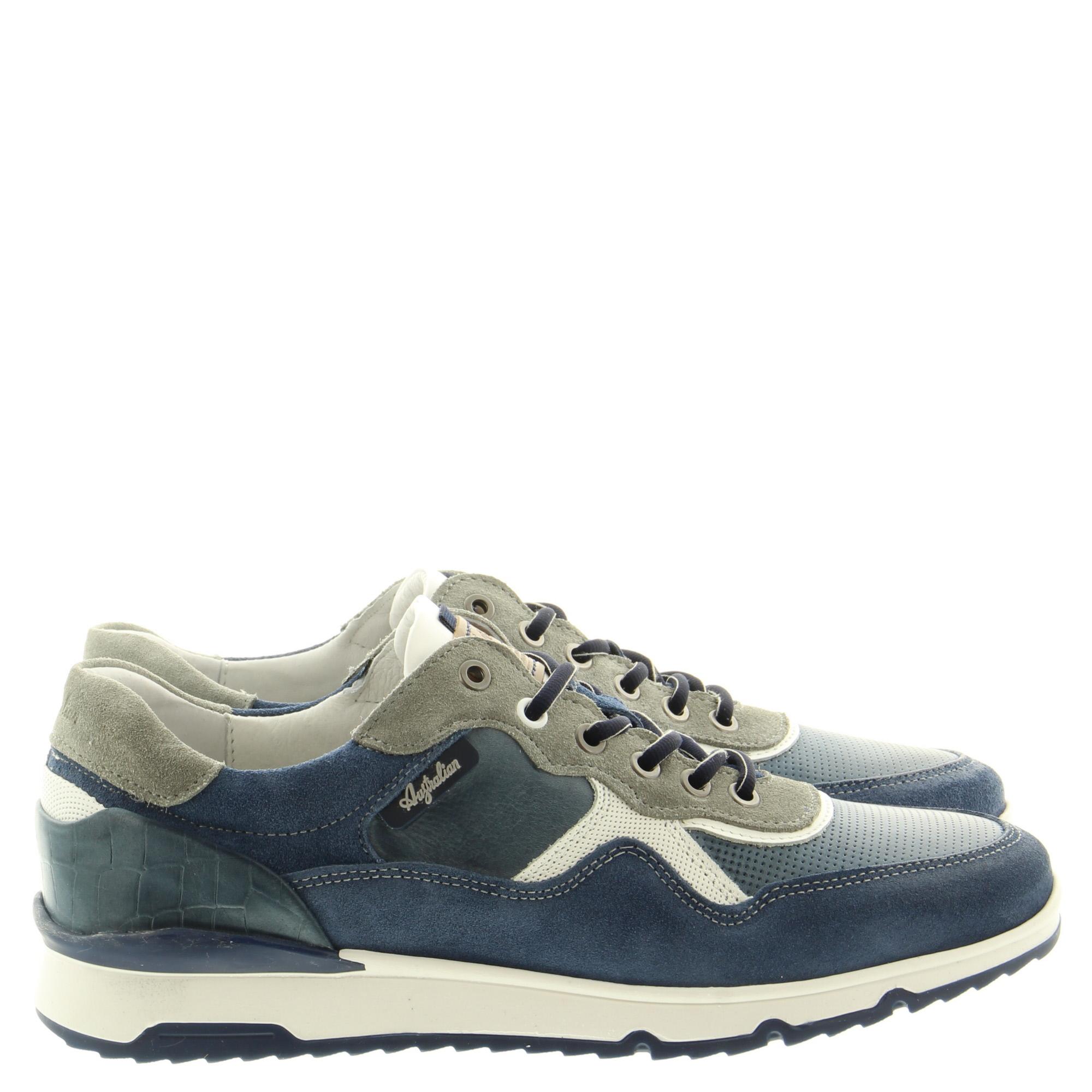 Australian Footwear Mazoni 15.1519.01 SI7 Blue grey white