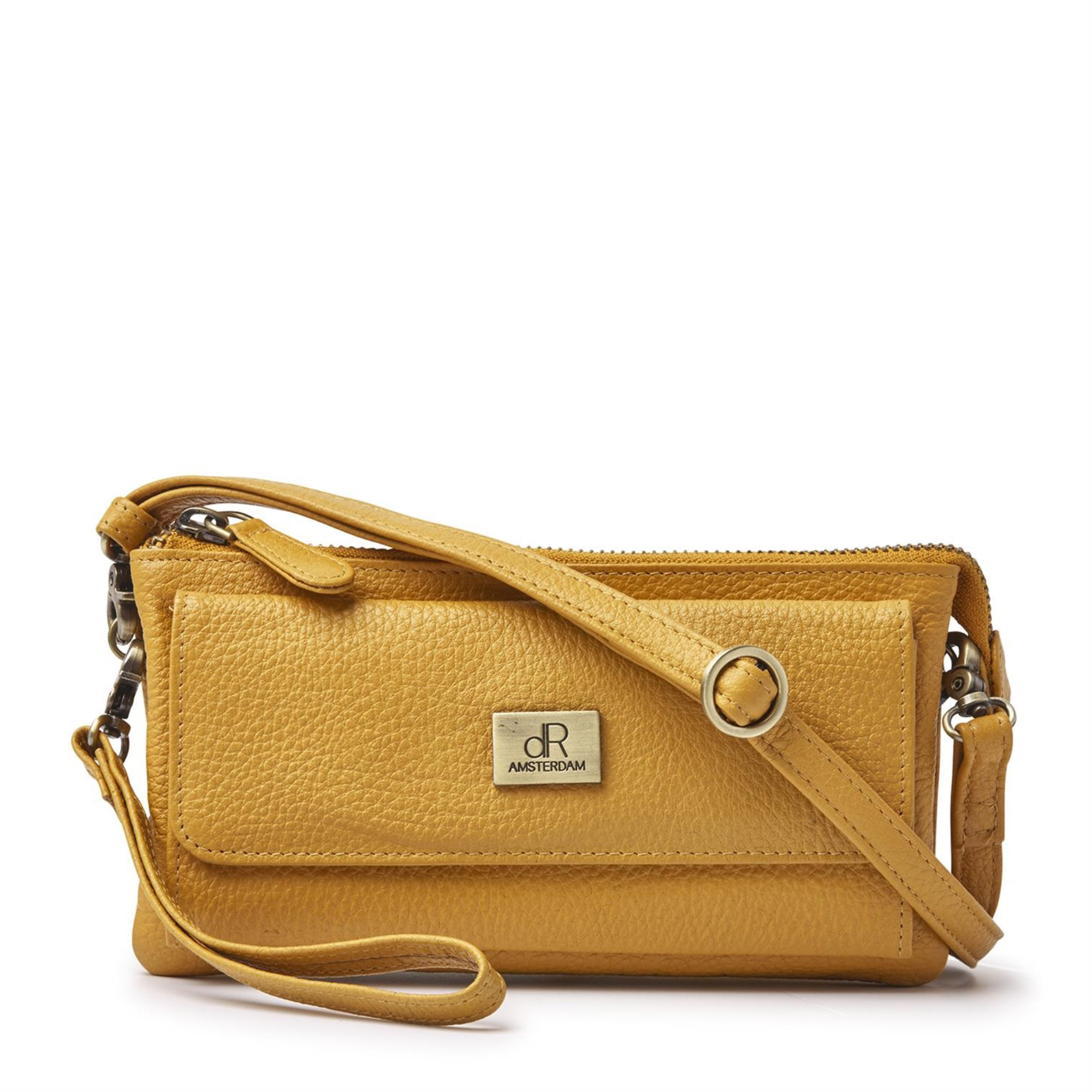 H.J. de Rooy Lederwaren 1103298 Clutch Yellow