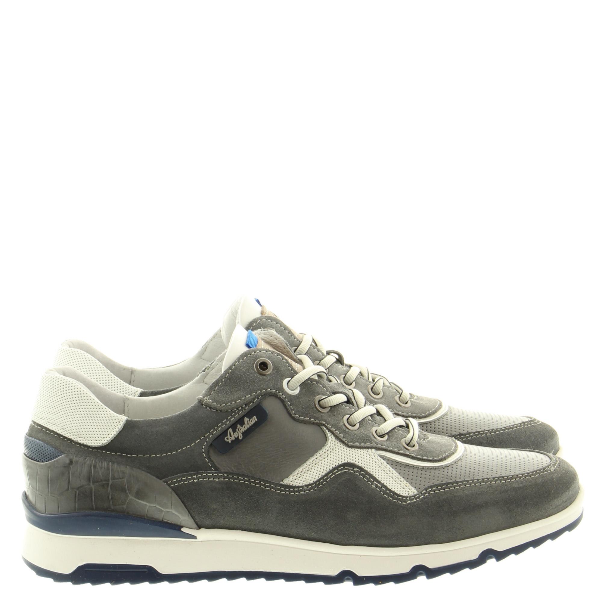 Australian Footwear Mazoni 15.1519.01 KC6 Grey-White-Blue