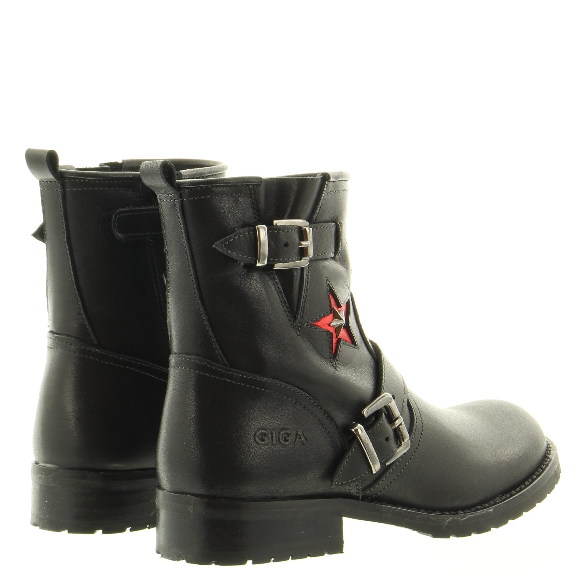 Giga G3122 B11K14 Black Ibercrust Rojo