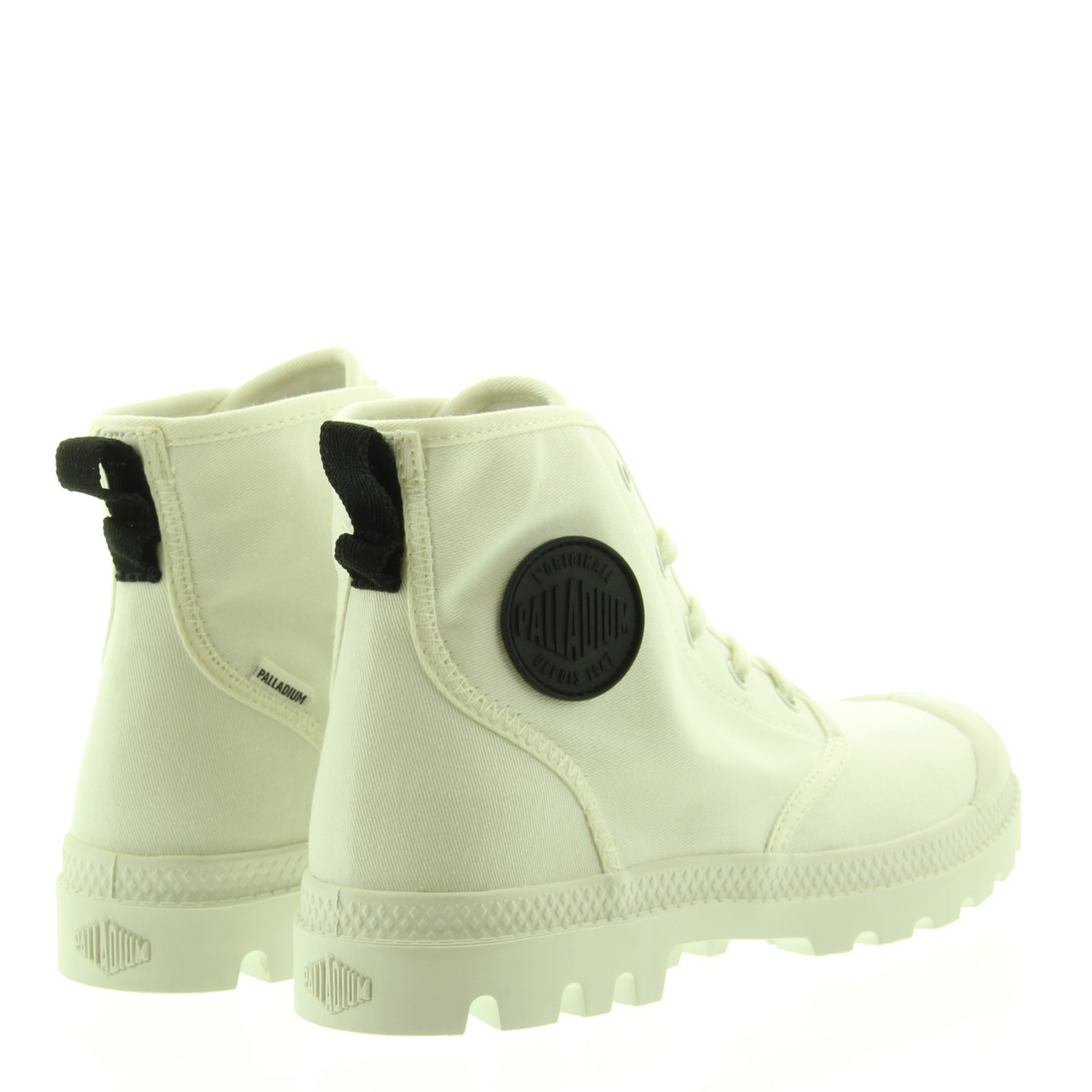 Palladium Pampa Hi Twill Star White