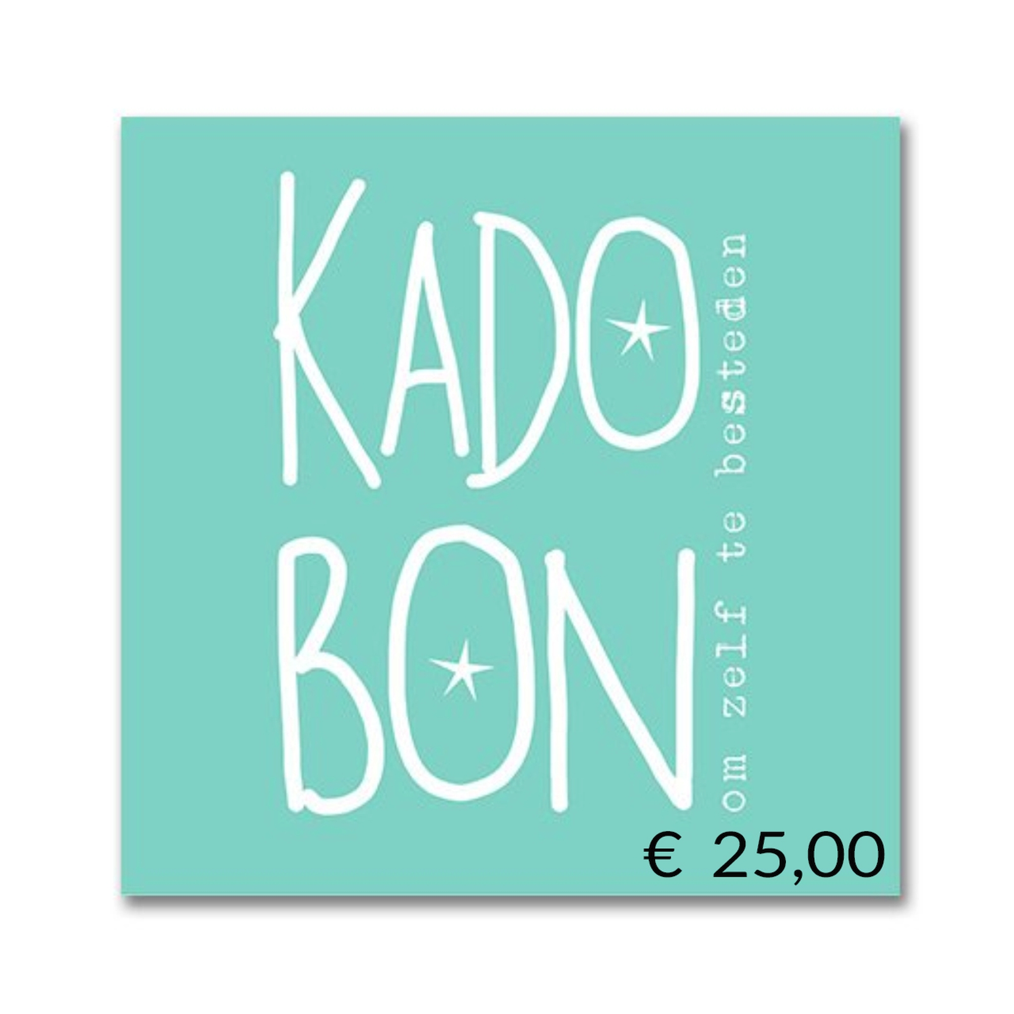 Steenwijk Schoenmode Kadobon Eur 25,00