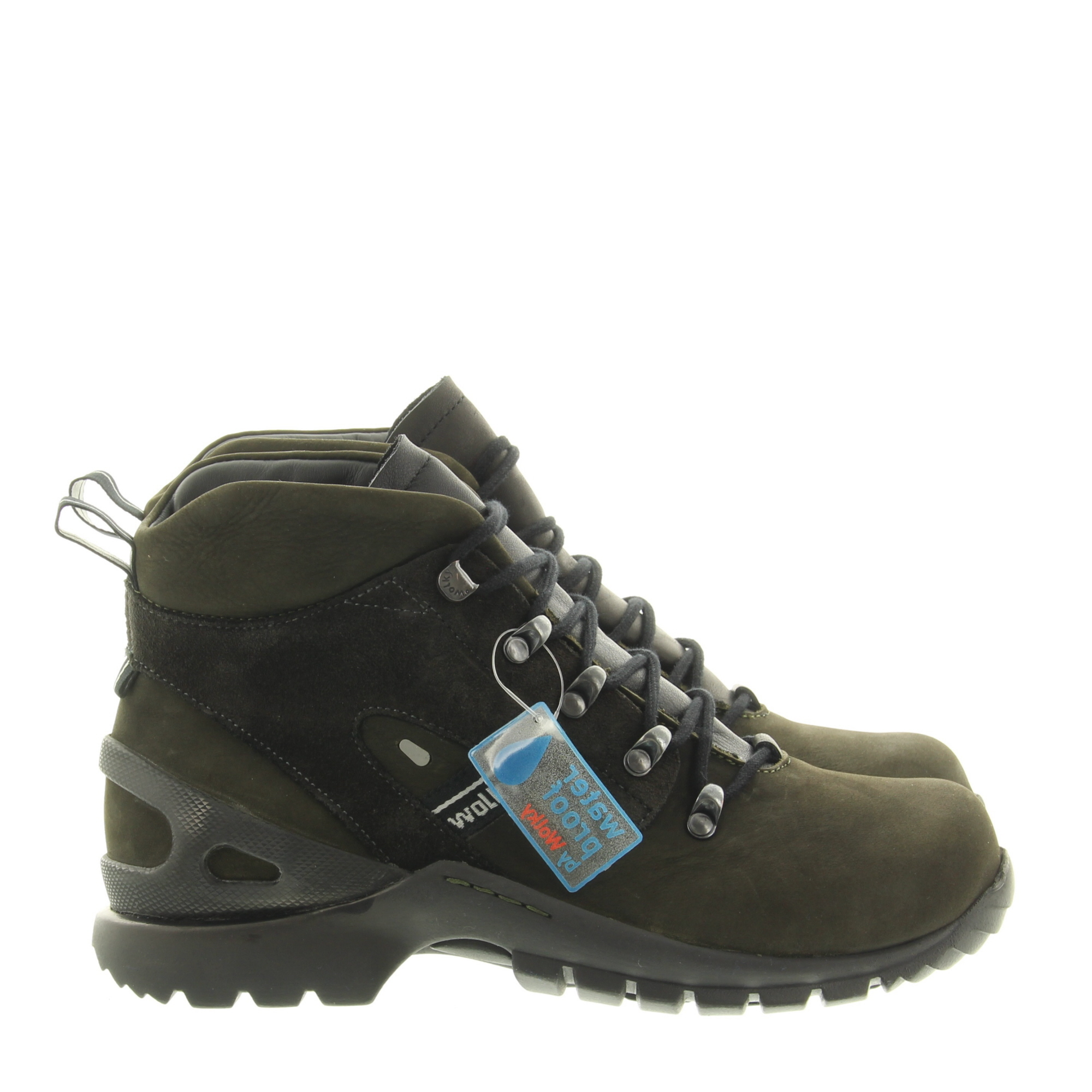 Wolky 0650516 Traction WP 770 Cactus Oiled nubuck