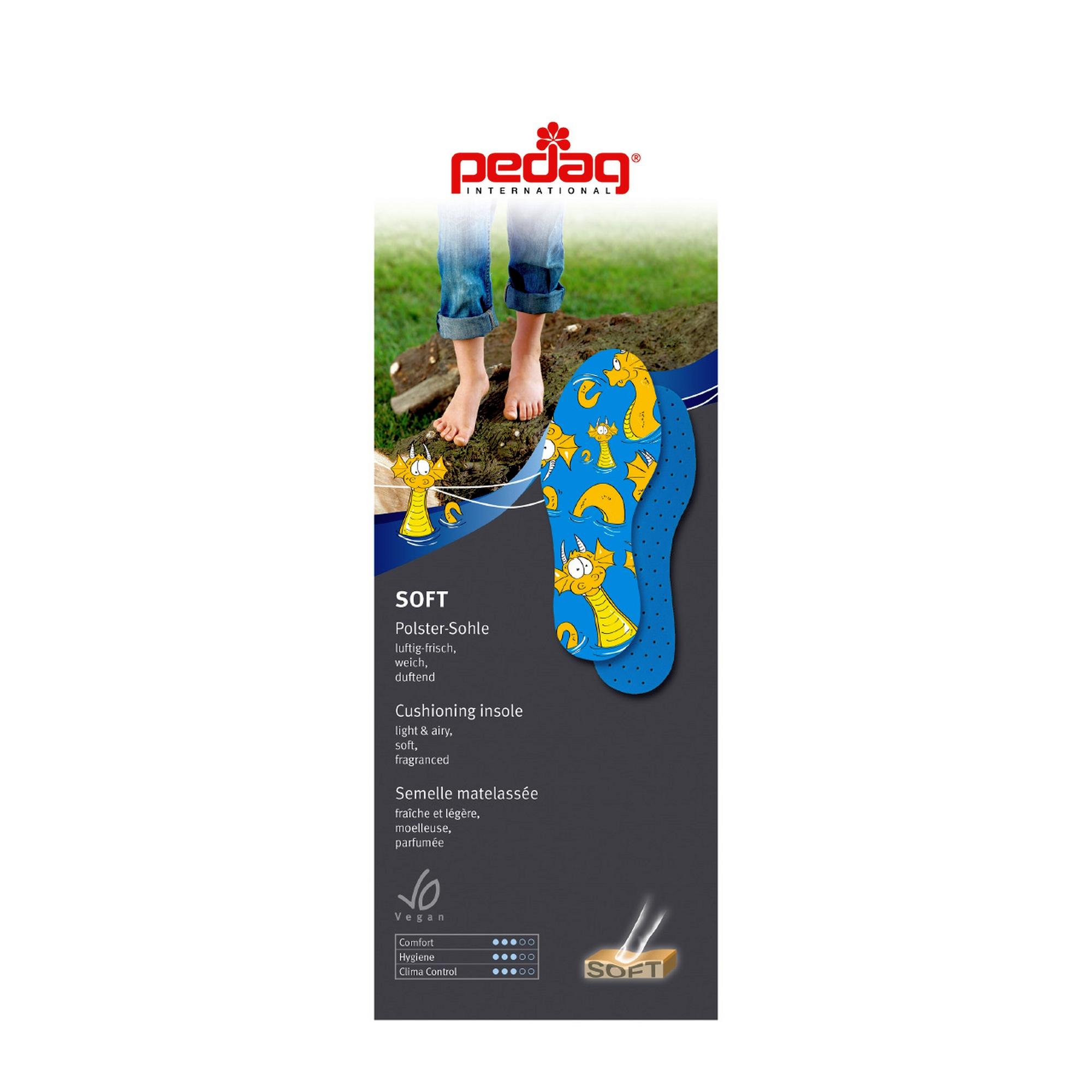 Pedag 105 10514 Soft Kids Platte inlegzool