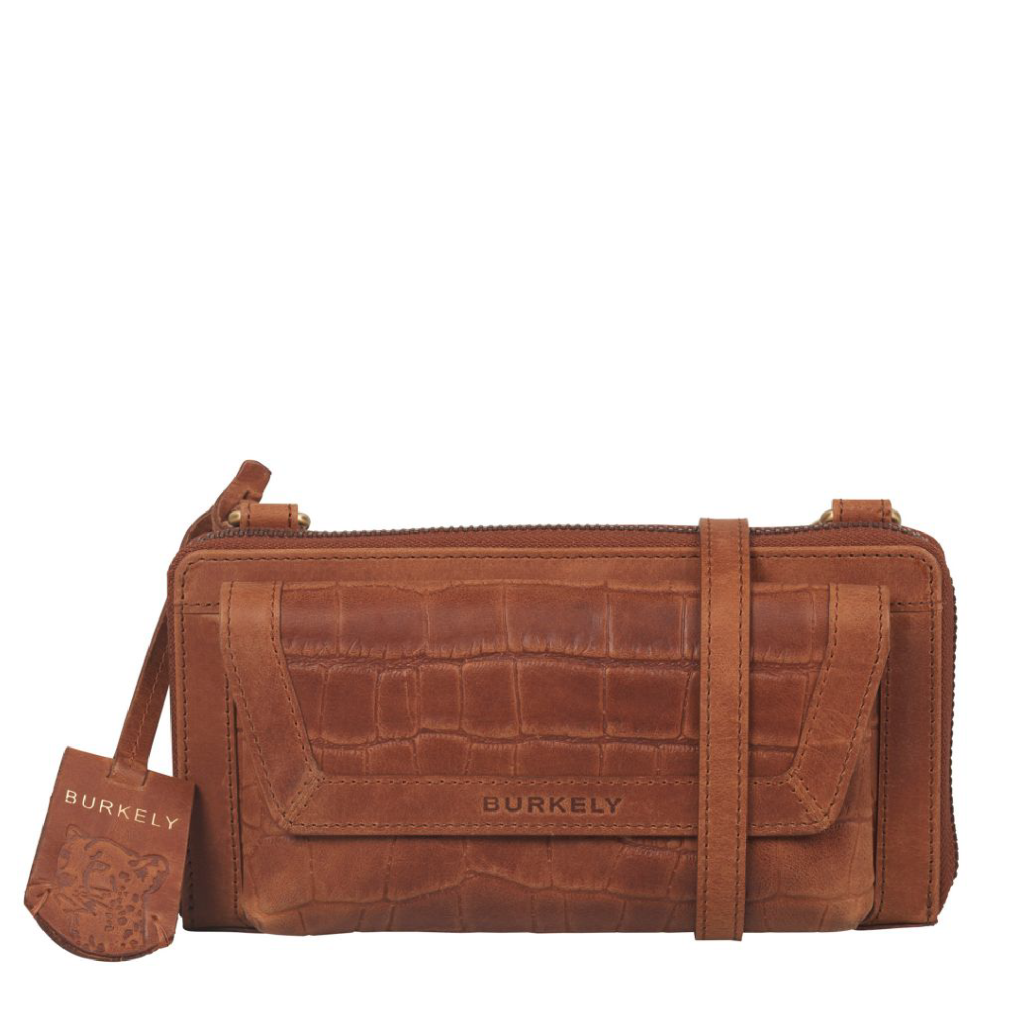 Burkely 1000129 Phone wallet 29.24 Cognac