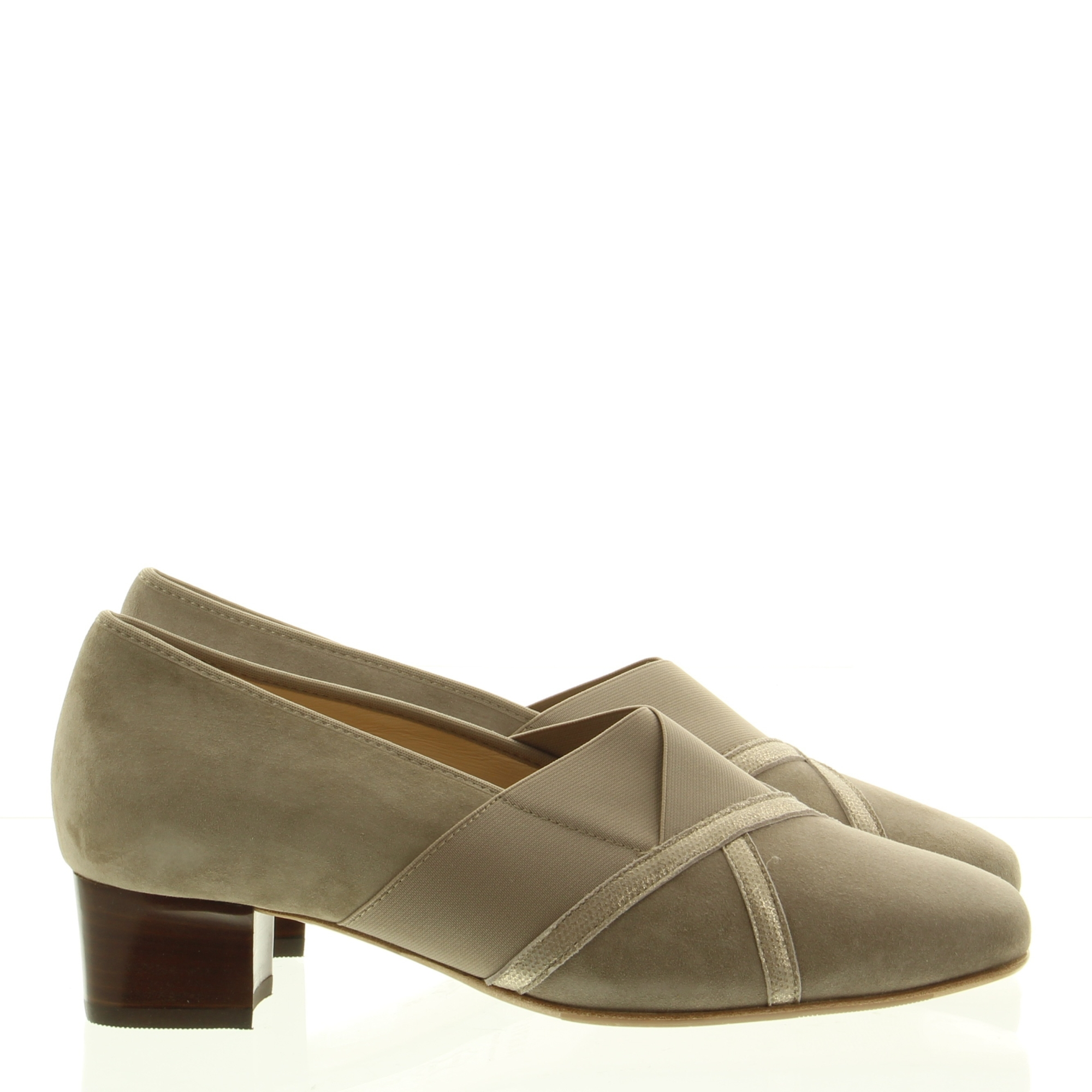 Hassia Shoes 303338 Evelyn 1900 Taupe Luna