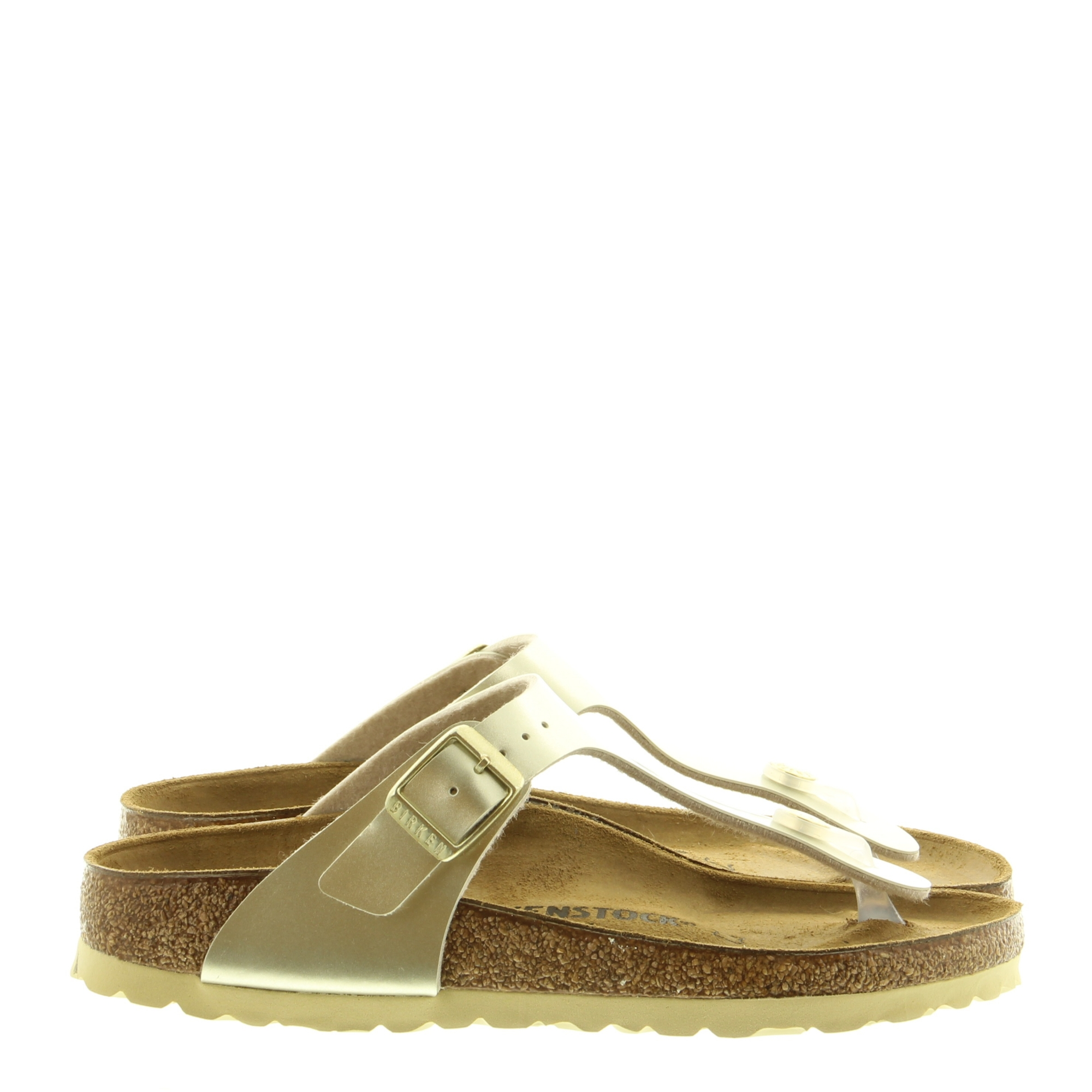 Birkenstock 1015593 Gizeh Electric Metallic Gold