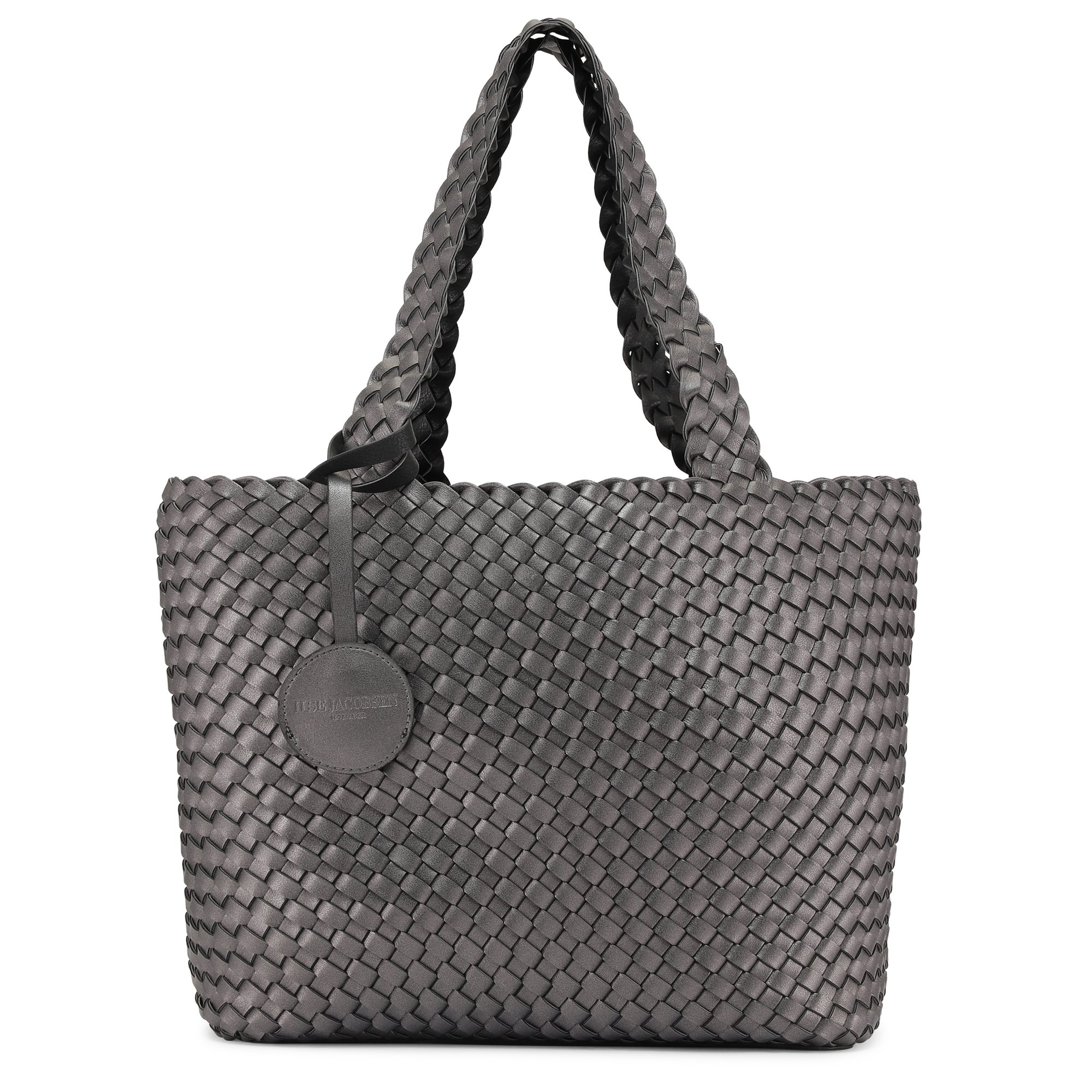 Ilse Jacobsen Bag08 001718 Black Gun Metal