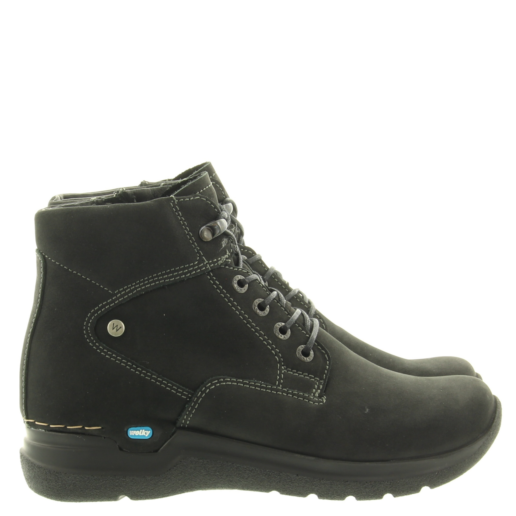 Wolky 0661216 Whynot Oiled nubuck 000 Black