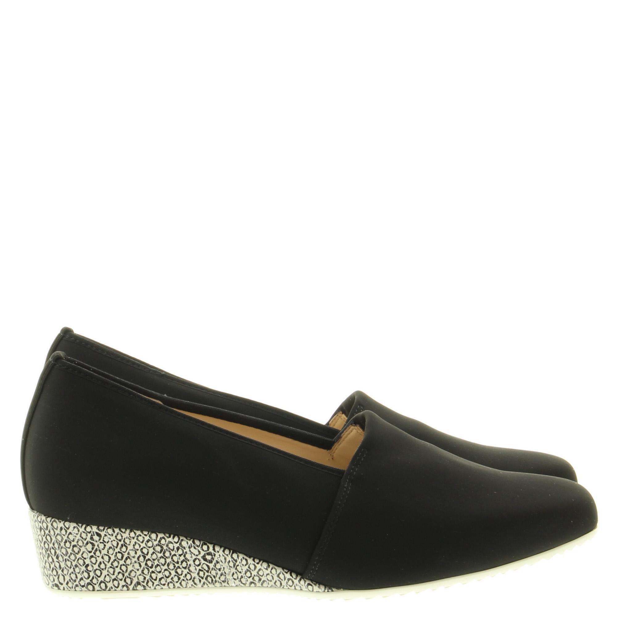Hassia Shoes 303283 Jesolo 0104 Schwarz Offwhite