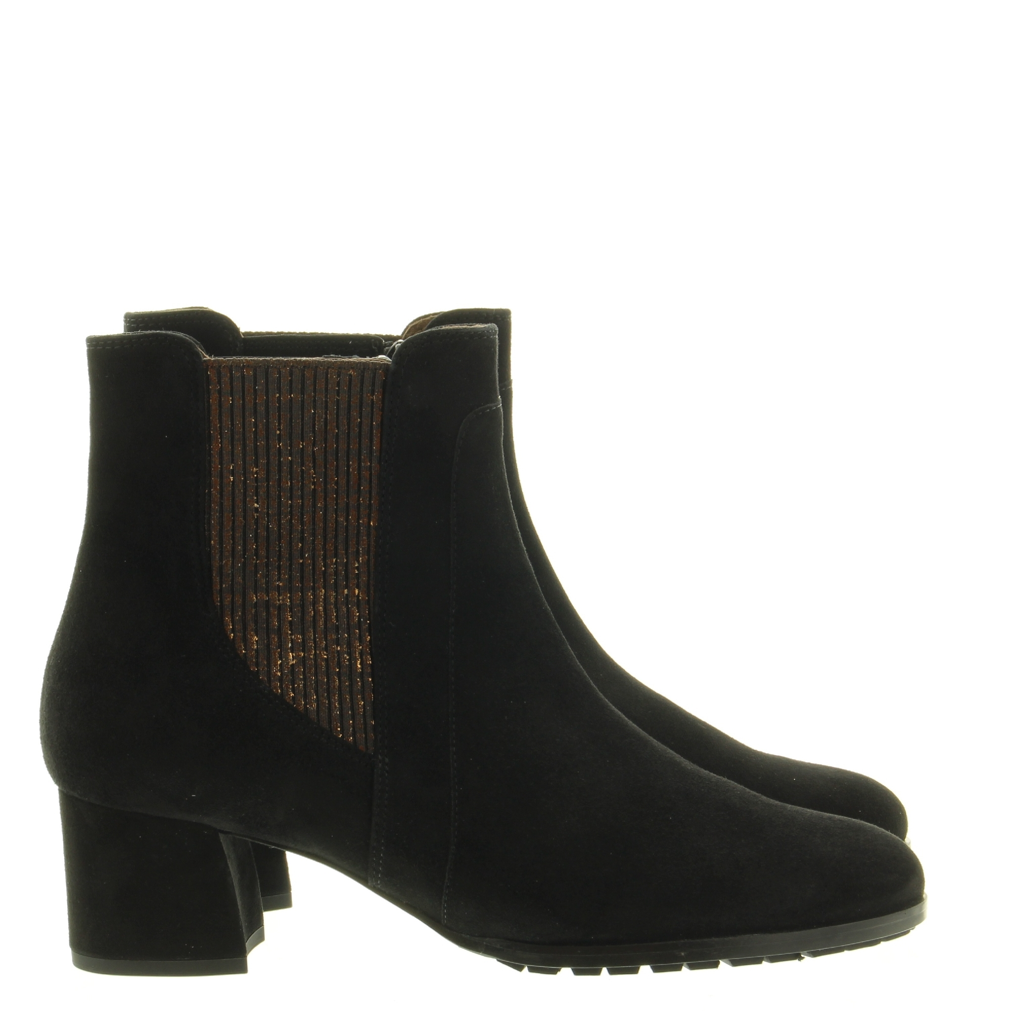 Hassia Shoes 306942 Turin 0100 Schwarz