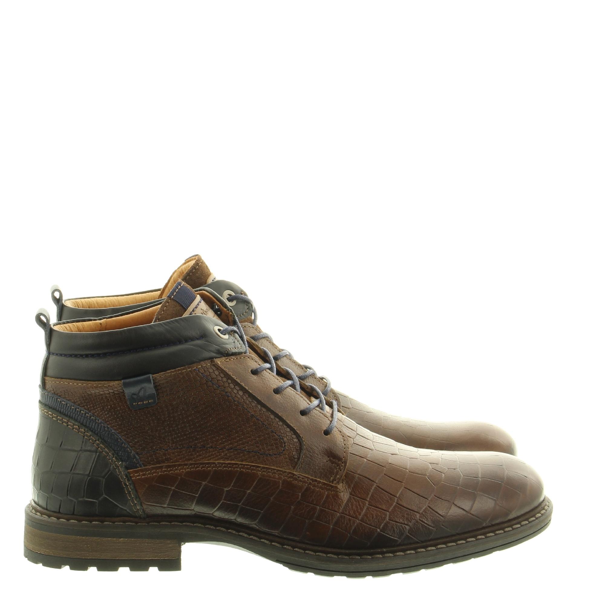 Australian Footwear Conley 15.1212.08 DJ8 Brown Black Blue