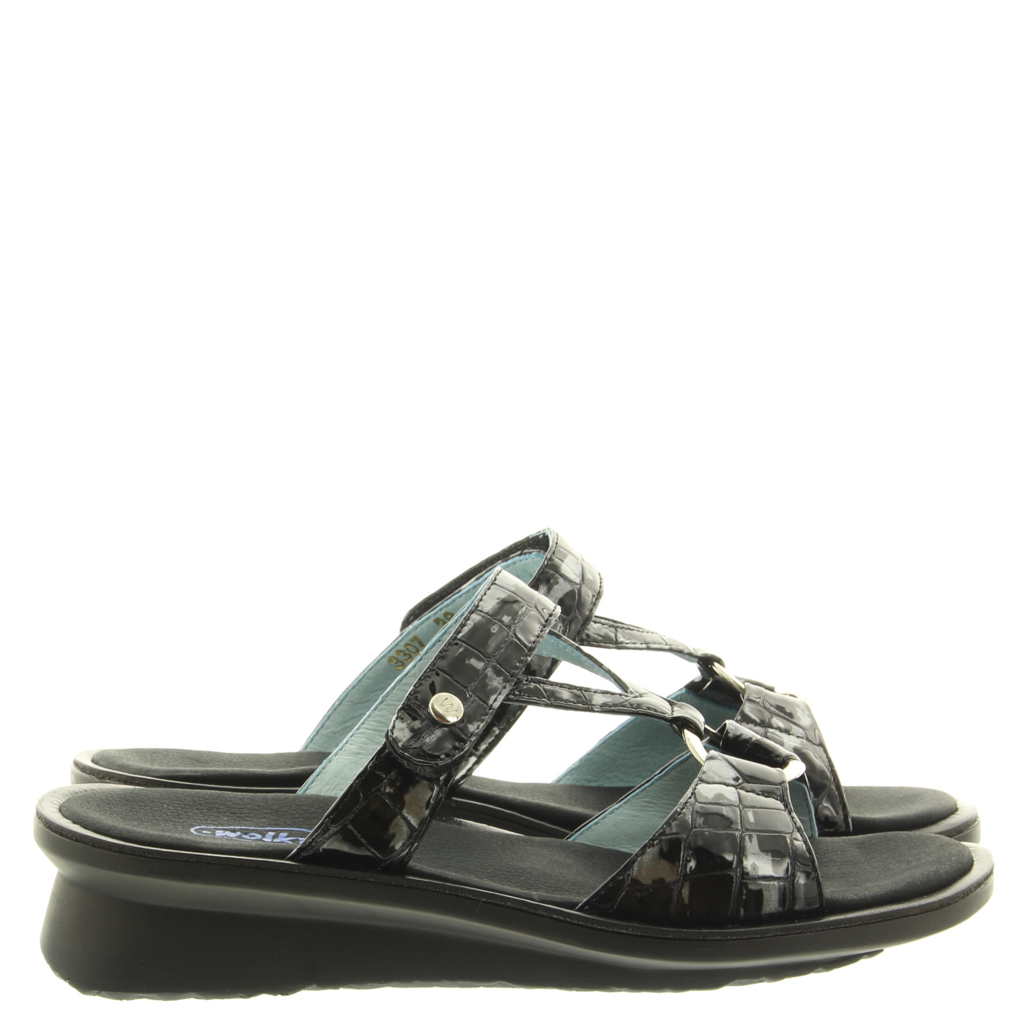 Wolky 0330769 Isa Croco 210 Anthracite