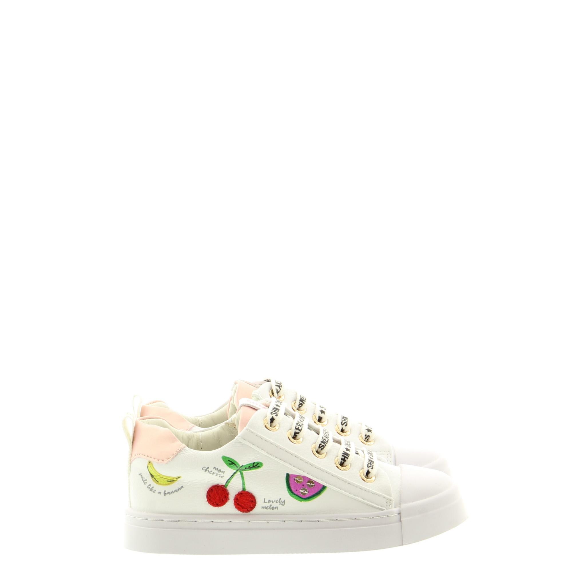 ShoesMe SH21S002-F White Cherrie