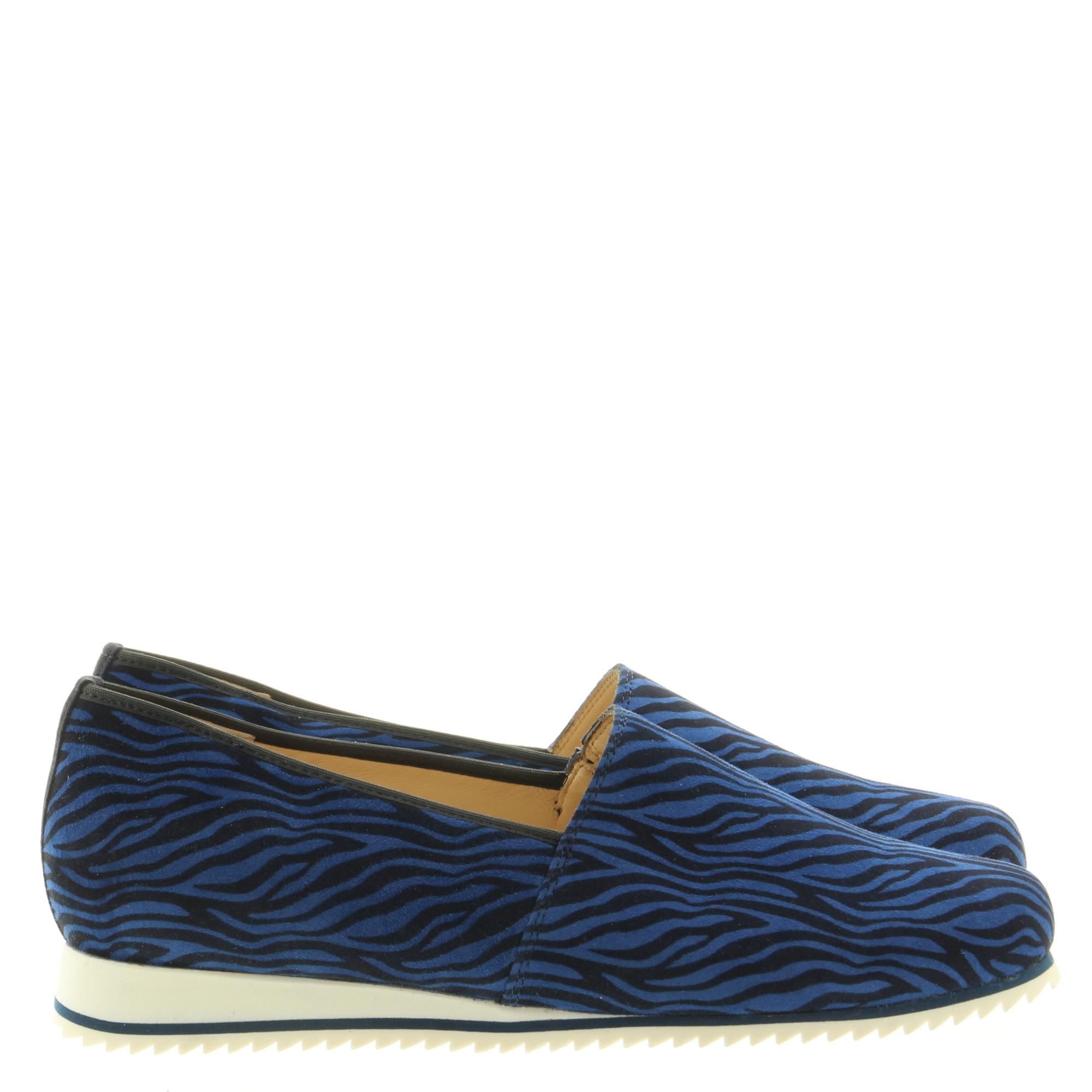 Hassia Shoes 301685 Piacenza 3000 Ocean Zebra