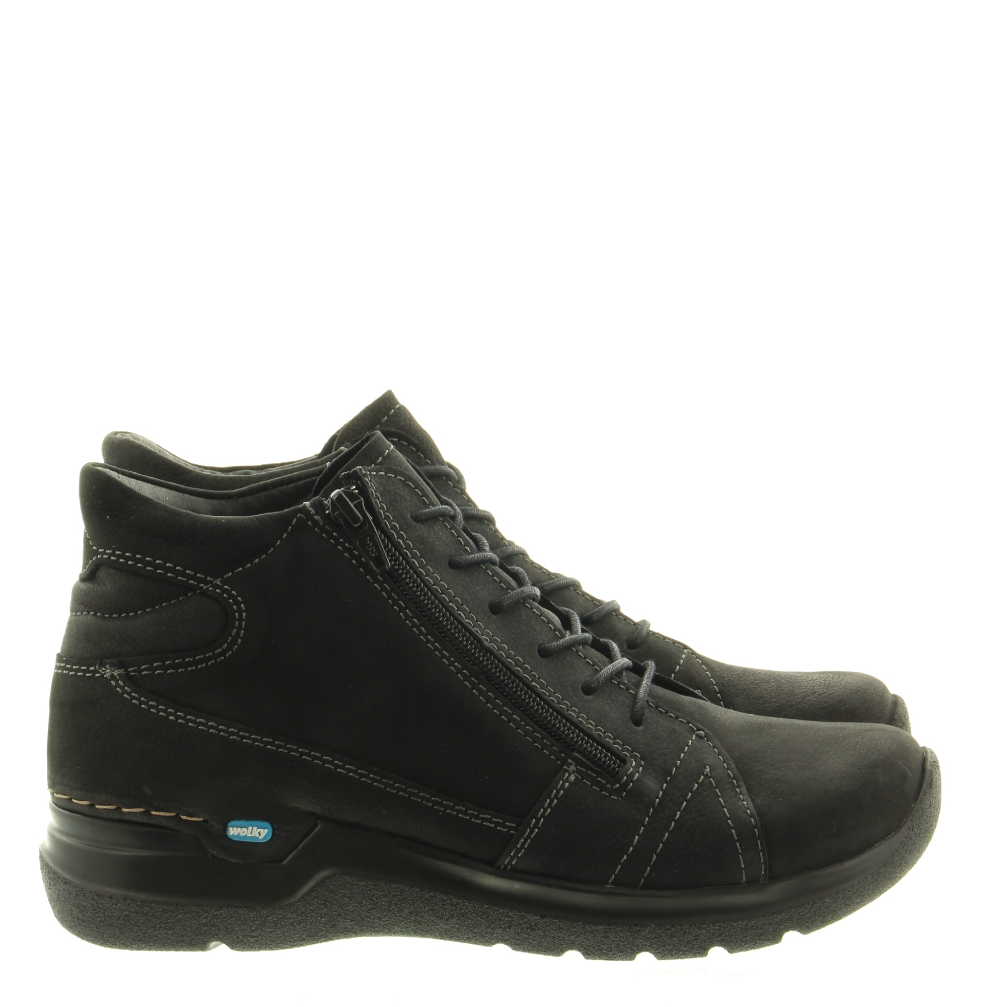 Wolky 0660611 Why Antique Nubuck 000 Black