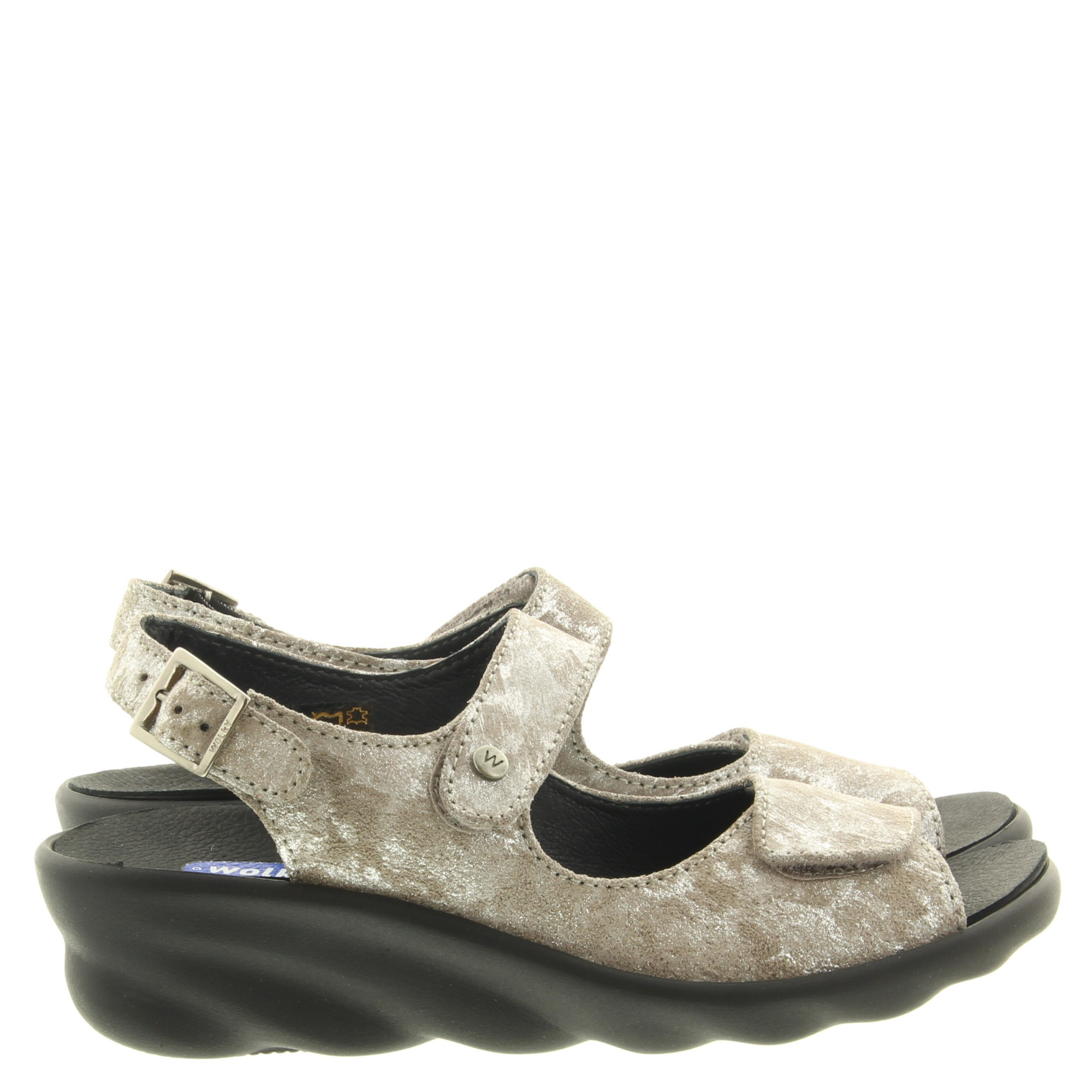 Wolky 0312548 Scala Storm suede 150 Taupe