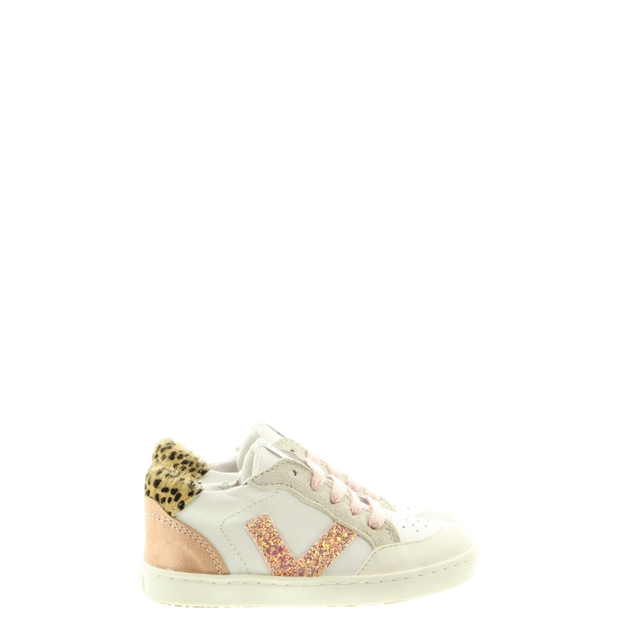 ShoesMe UR21S043-D White Rosegold