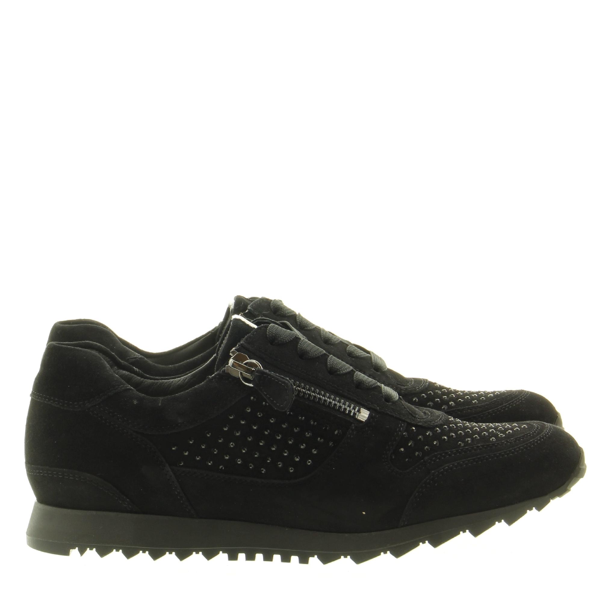 Hassia Shoes 301932 Barcelona 0100 Schwarz