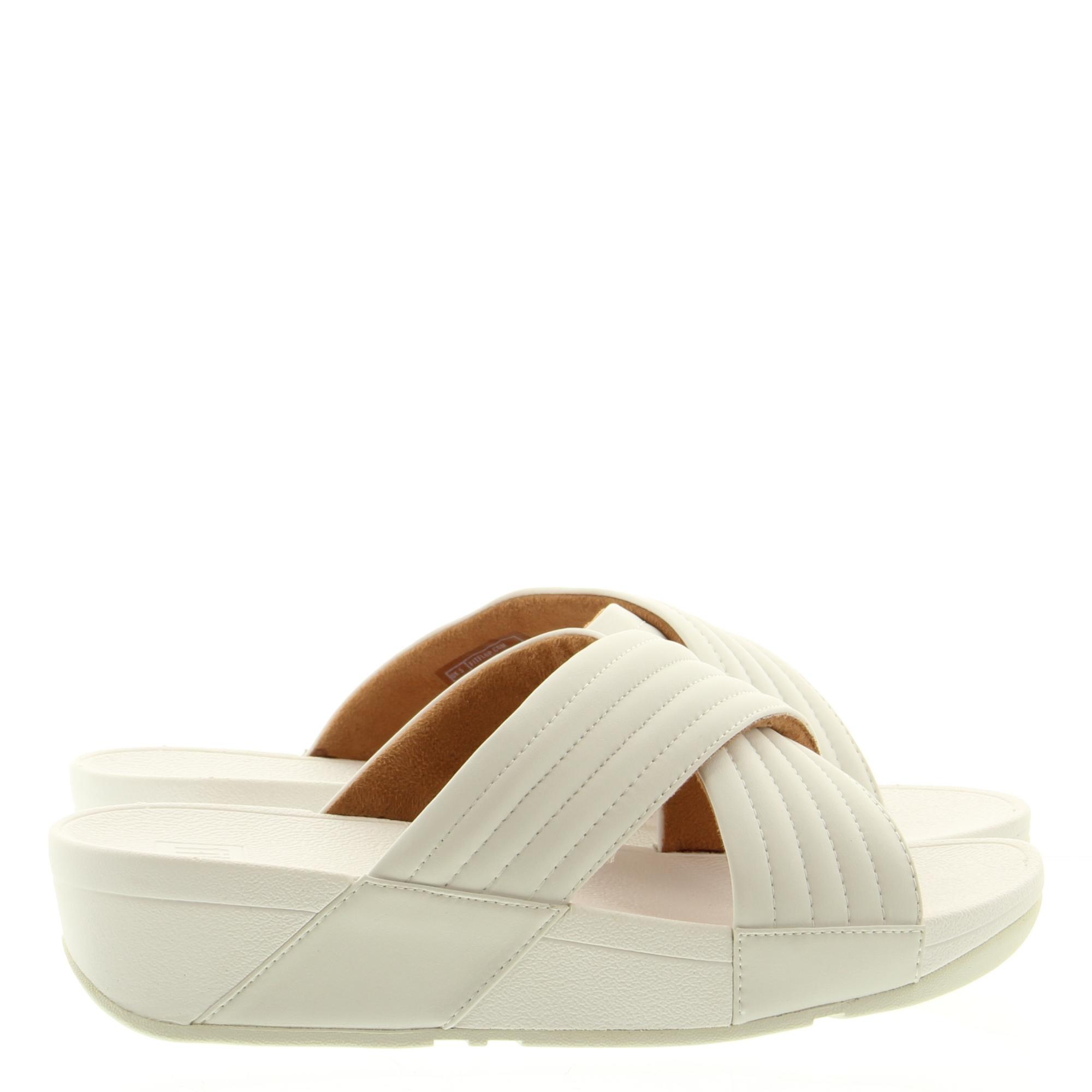 Fitflop Lulu Padded Slide urban white