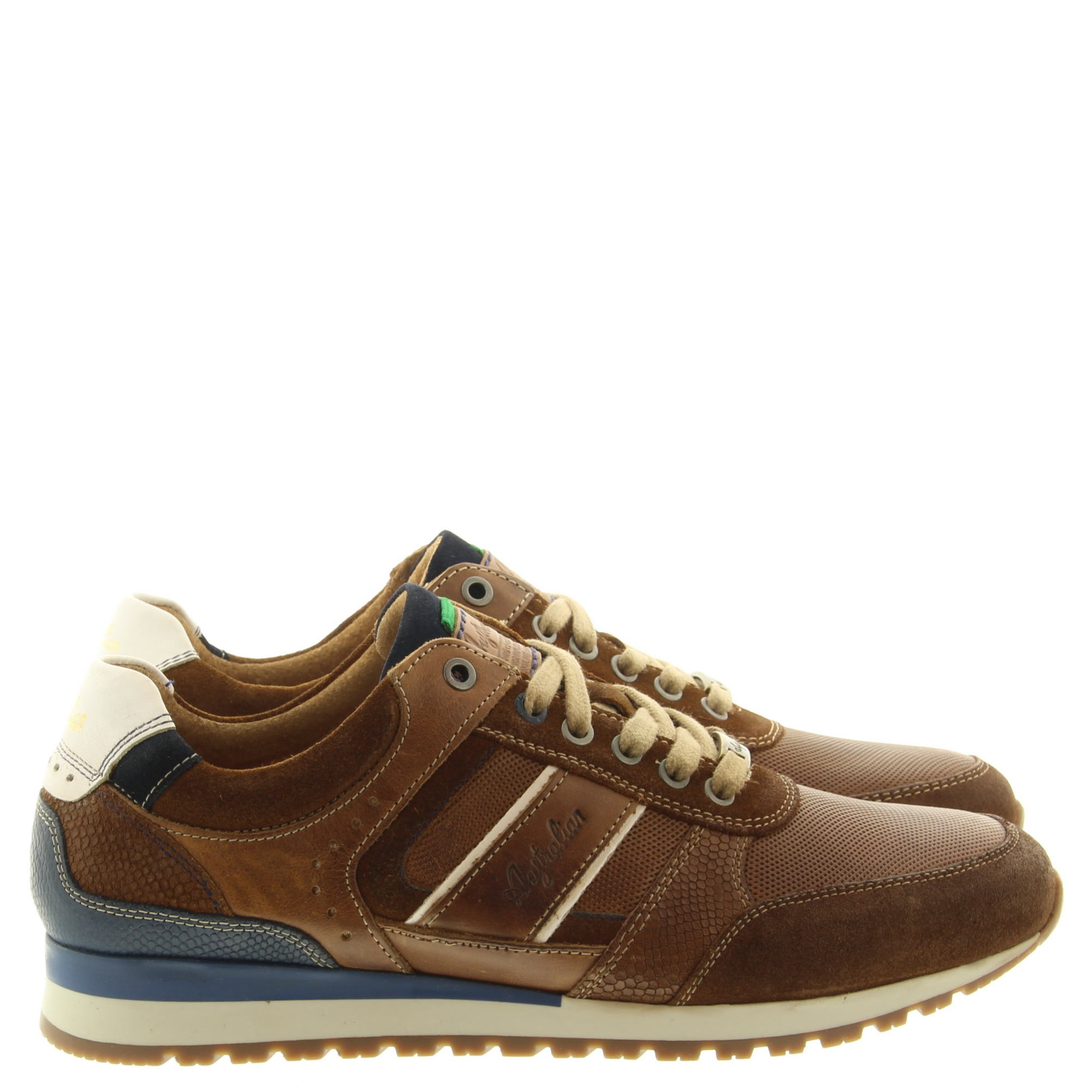 Australian Footwear Condor 15.1504.02 T30 Tan-Blue-White